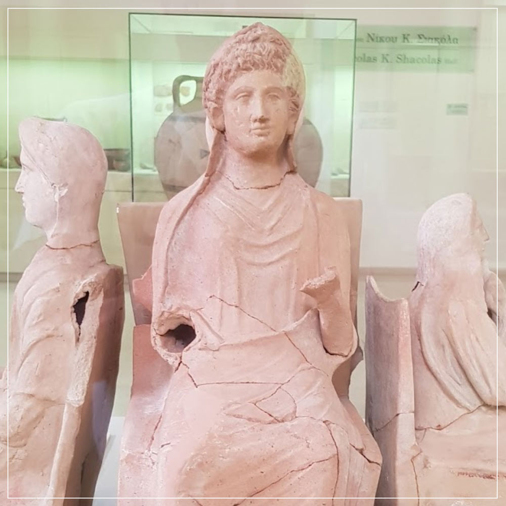Archaeological Museum of Marion Arsinoe Cyprus