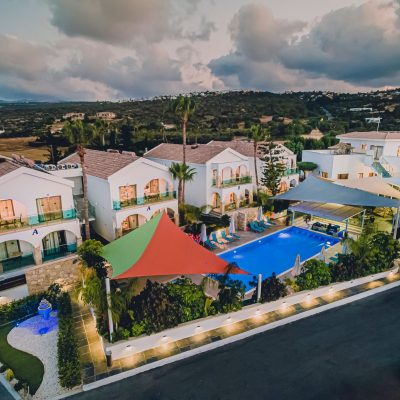 Caprice Spa Resort Cyprus - drone view