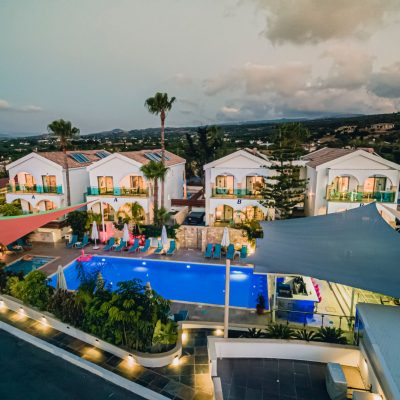 Caprice Resort - night view
