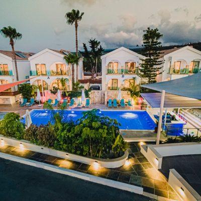 Caprice Resort - aerial view