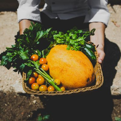 A bowl of fresh Cyprus fruit