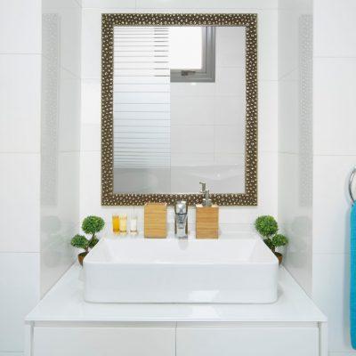 Modern bathroom in Caprice resort in Polis