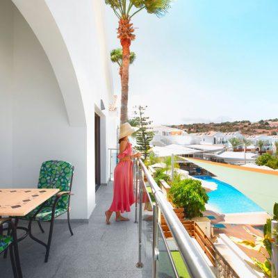 Caprice Spa Resort beautiful terrace view