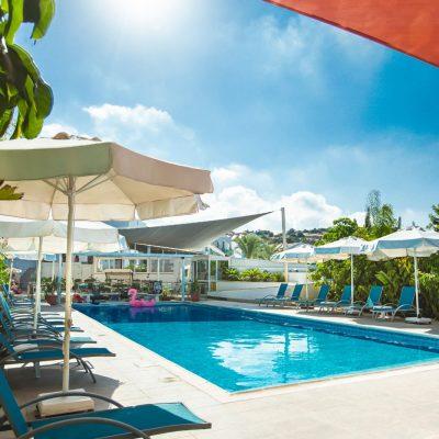 Caprice Spa resort pool