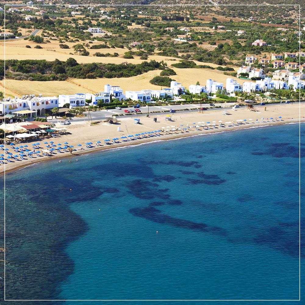 Latchi beach Polis Cyprus