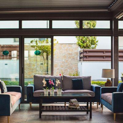 Lounge area in Caprice Resort Paphos