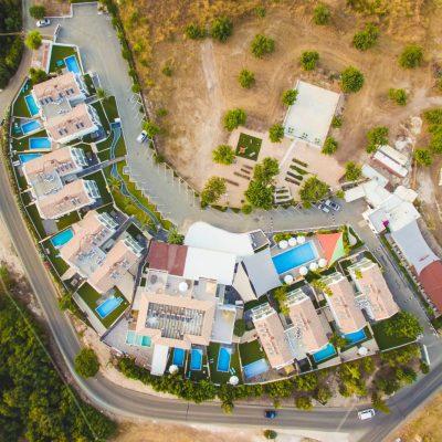 Luxury accommodation in Neo Chorio, Polis