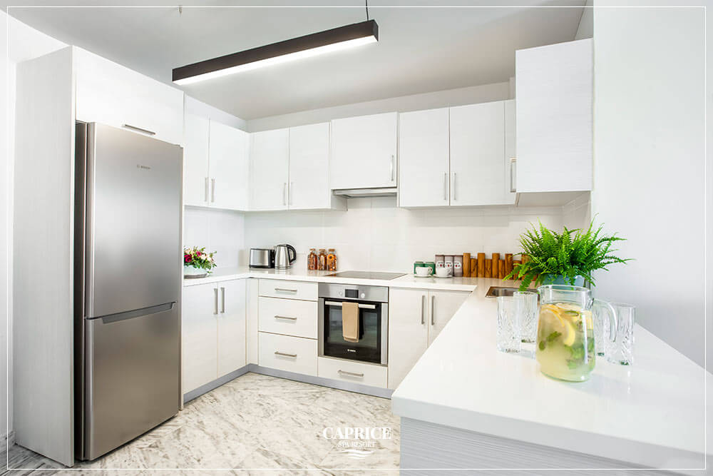 luxury accommodation latchi kitchen