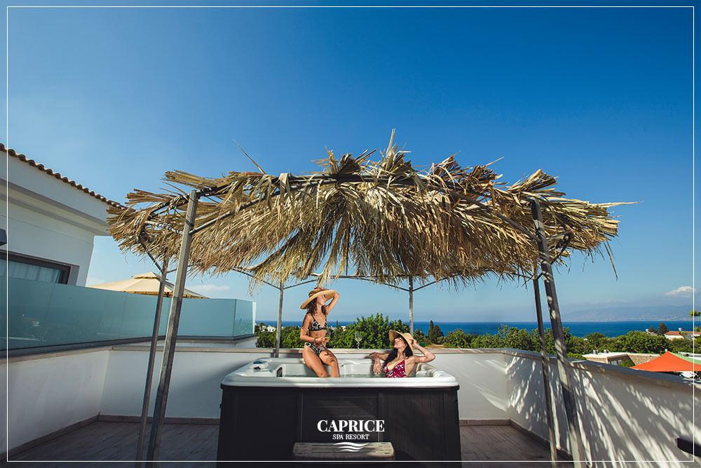luxury hotel cyprus jacuzzi