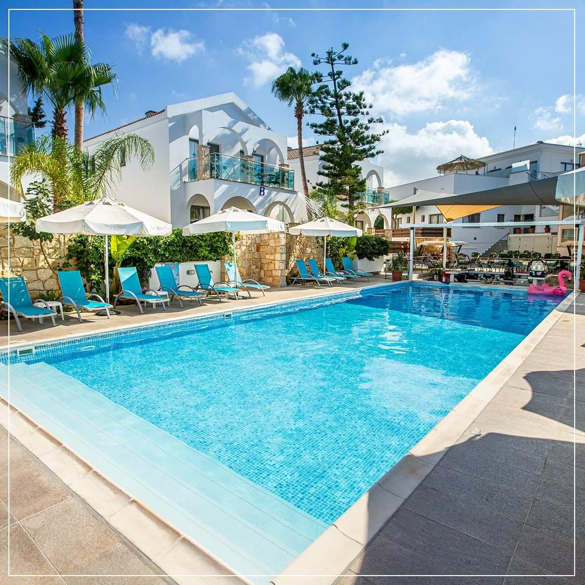 caprice resort outdoor pool