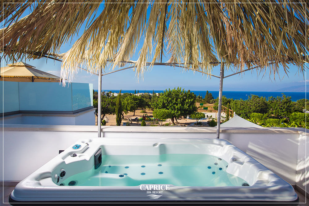 capric family resort - jacuzzi